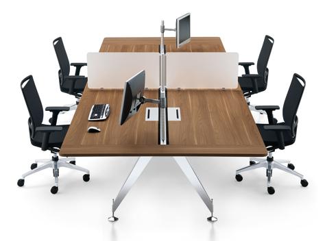 Serem espace collaborateurs et open space bureaux et bench