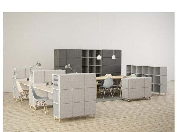 Serem: espace collaborateurs et open space bureaux et bench
